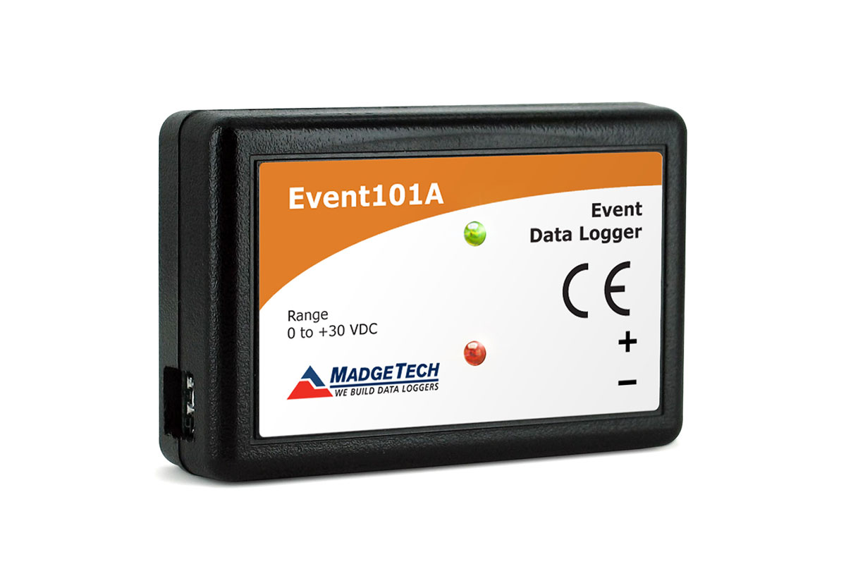 Data Logger Vdc : Madgetech event a data elektronik